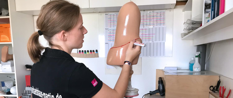 Prothesen vom Sanitätshaus MOT in Tettnang und Friedrichshafen